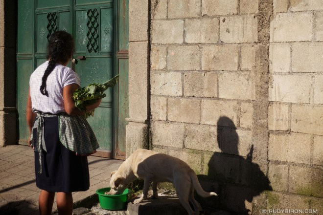 Rudy Giron: Antigua Guatemala &emdash; Acts of Kindness: Feeding the Chuchos