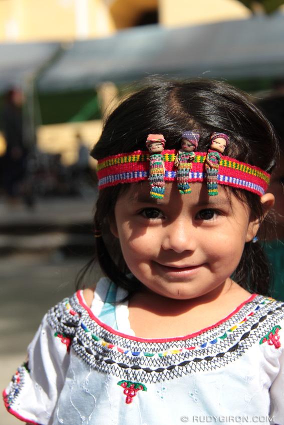 Rudy Giron: Antigua Guatemala &emdash; Portrait Of A Little Guatemalan Girl