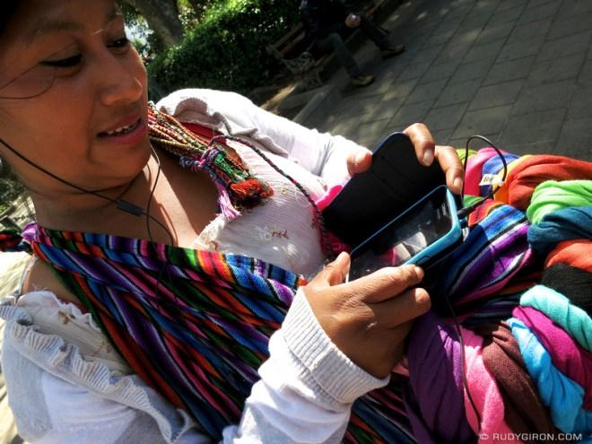 Rudy Giron: Antigua Guatemala &emdash; The Maya and Smartphones