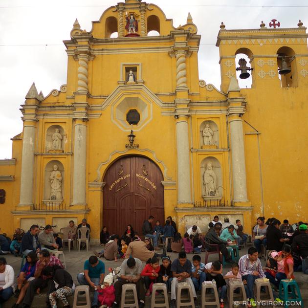 Rudy Giron: Instagrams &emdash; Bingo Night in San Miguel Escobar, Ciudad Vieja,