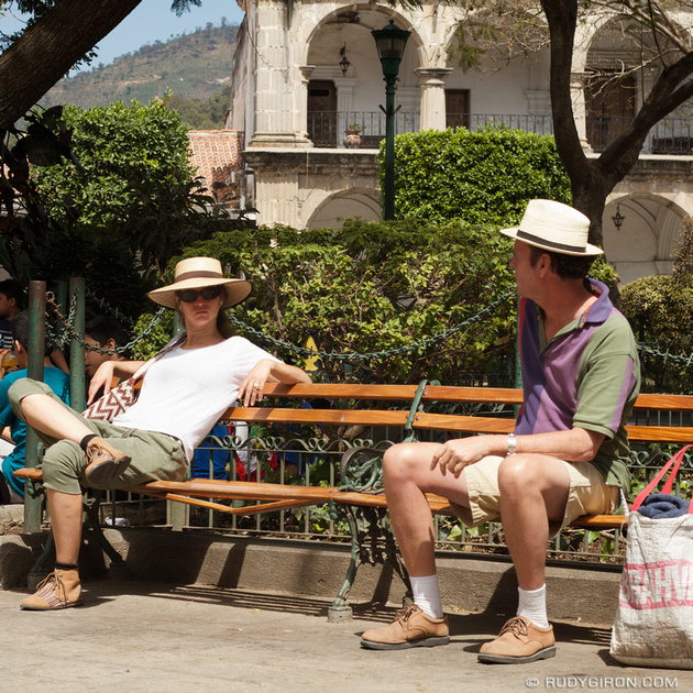 Rudy Giron: Antigua Guatemala &emdash; Hats for Winter in Antigua Guatemala