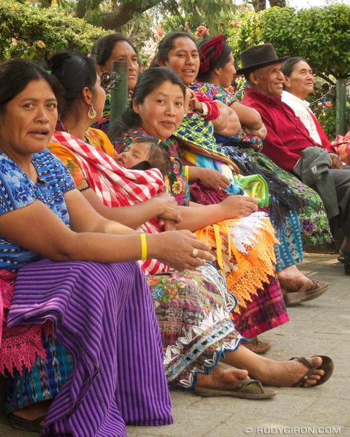 Rudy Giron: Antigua Guatemala &emdash; Mayan Faces from Antigua Guatemala