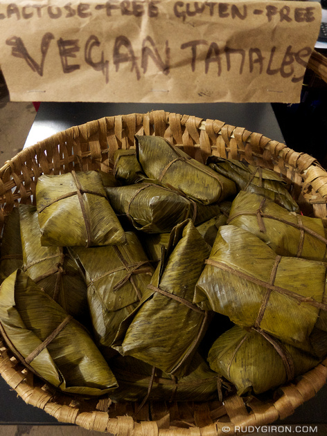 Rudy Giron: Antigua Guatemala &emdash; Guatemalan Vegan Tamales