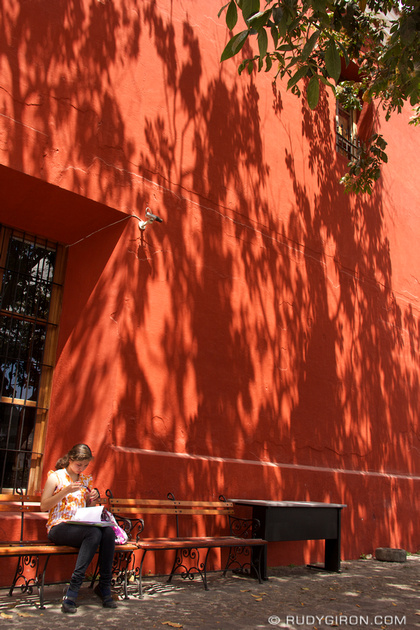 Rudy Giron: Antigua Guatemala &emdash; Antigua Guatemala Colors: Red