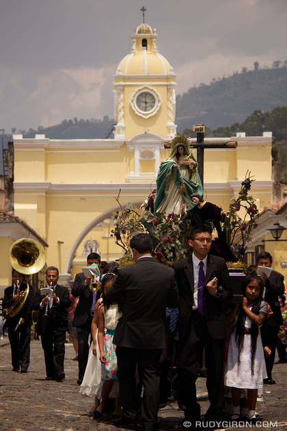 Rudy Giron: Antigua Guatemala &emdash; Holy Week Vistas: Children's Precessions