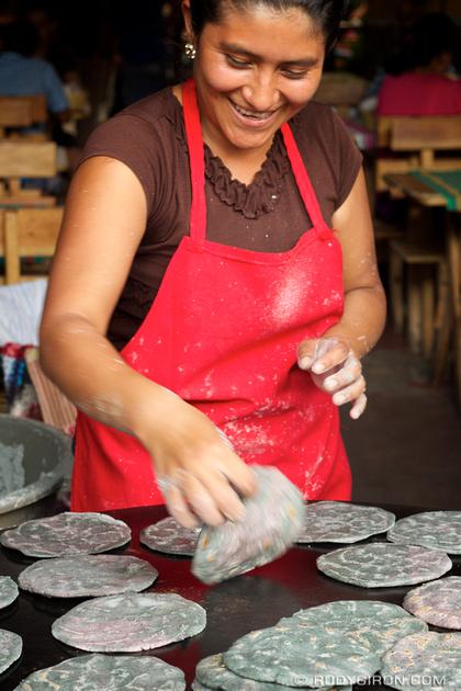 Rudy Giron: Antigua Guatemala &emdash; © Fresh Black Tortillas Anyone, Anyone? by Rudy Giron