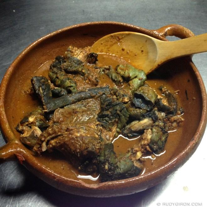 Rudy Giron: Guatemalan gastronomy &emdash; Guatemalan Food: Iguana en Iguashte