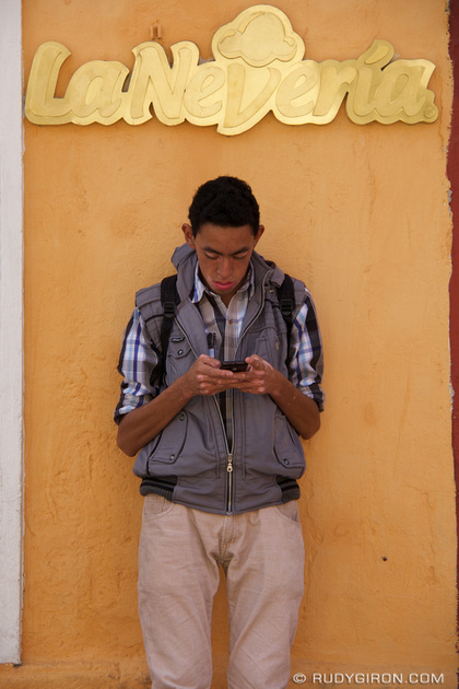 Rudy Giron: Antigua Guatemala &emdash; La Nevería Ice Cream Shop