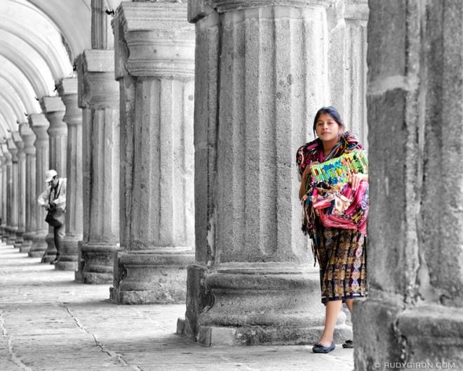 Rudy Giron: Antigua Guatemala &emdash; Black and White and Color