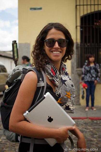 Rudy Giron: Antigua Guatemala &emdash; Have iPad, Will Travel