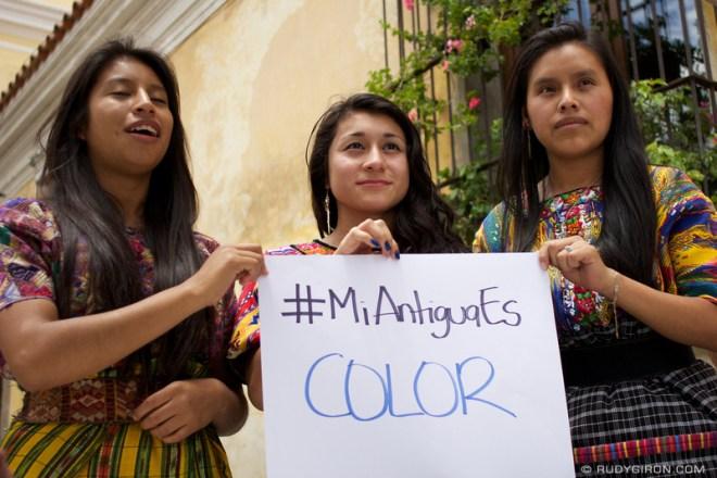 Rudy Giron: Antigua Guatemala &emdash; Mi Antigua Es Color