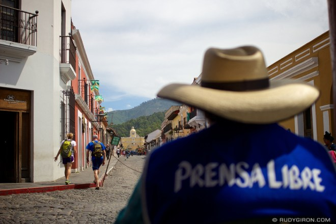 Rudy Giron: Antigua Guatemala &emdash; Weekend Vistas At Calle del Arco