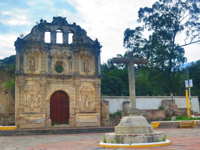 Rudy Giron: HDR photos &emdash; HDR of Ruins of Santa Isabel, Antigua Guatemala