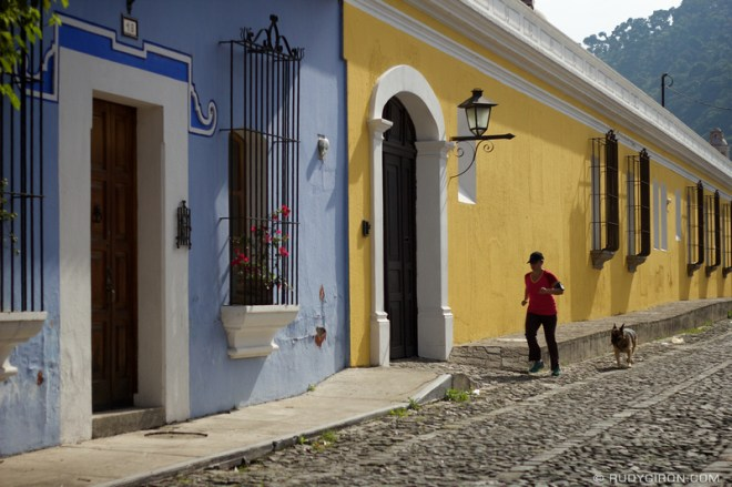 Rudy Giron: Antigua Guatemala &emdash; Morning walks and runs around La Antigua Guatemala