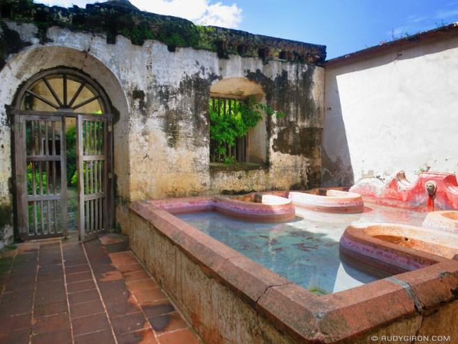Rudy Giron: Antigua Guatemala &emdash; Pilas de Las Capuchinas, La Antigua Guatemala