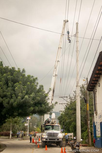 Rudy Giron: Antigua Guatemala &emdash; Dare Devil Rivisited