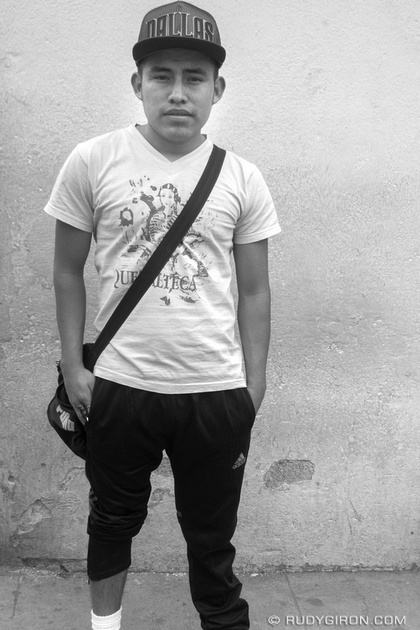 Rudy Giron: Antigua Guatemala &emdash; I am Guatemala 3 BW