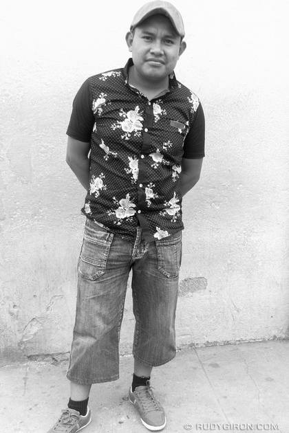 Rudy Giron: Antigua Guatemala &emdash; I am Guatemala 4 BW