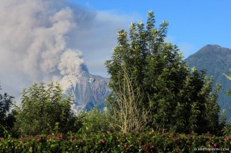 Volcano Fuego's Fumaroles, Pyroclastic Flows and Lava Rivers image by Rudy Giron + http://photos.rudygiron.com