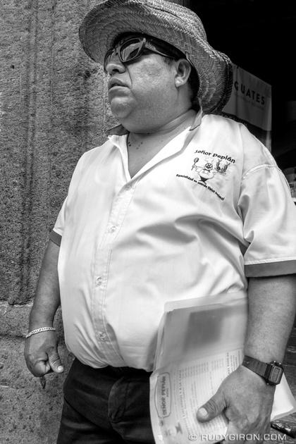 Rudy Giron: Antigua Guatemala &emdash; Señor Pepián