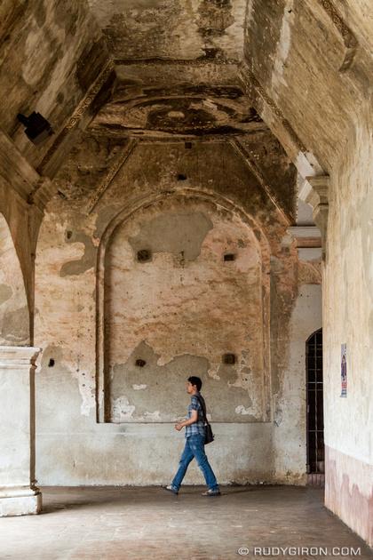 Rudy Giron: Antigua Guatemala &emdash; Arches at Ruins of La Merced