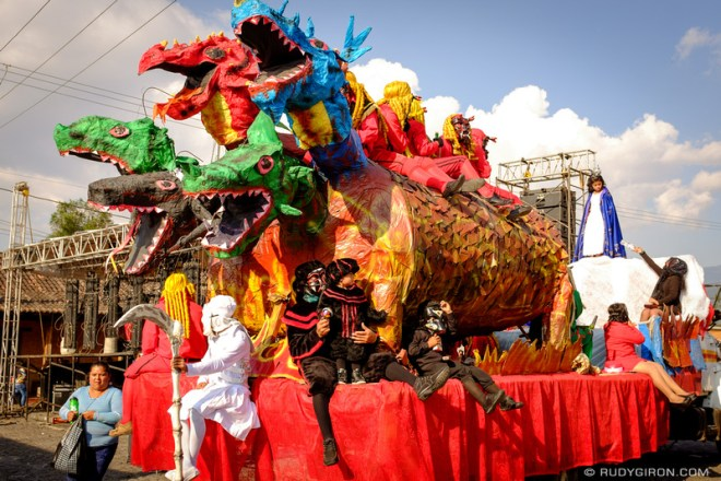 Rudy Giron: Antigua Guatemala &emdash; Dragons, Devils, Death and A Virgin in San Pedro Las Huertas, Antigua Guatemala