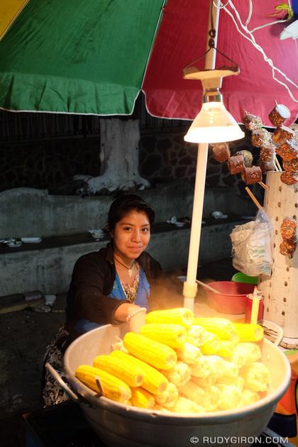 Rudy Giron: Antigua Guatemala &emdash; The Ever Popular Corn on the Cob