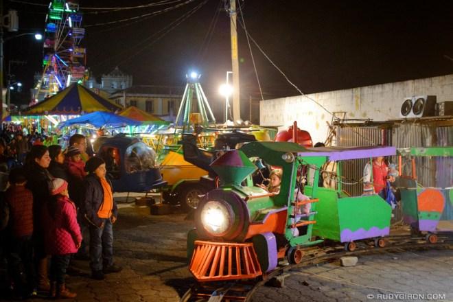 Rudy Giron: Antigua Guatemala &emdash; Mechanical Games at the Ciudad Vieja town fair