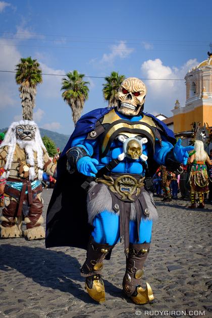 Rudy Giron: Antigua Guatemala &emdash; Convite Costume Dance from San Pedro Las Huertas 4