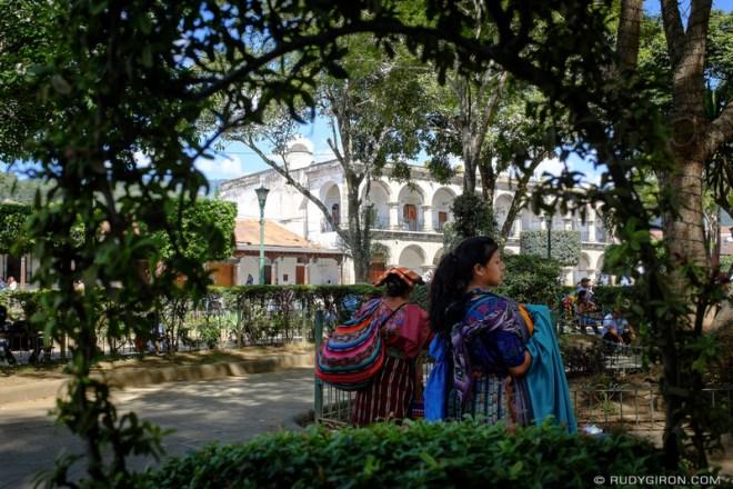 Rudy Giron: Antigua Guatemala &emdash; Natural Framing Around Central Park, Antigua Guatemala