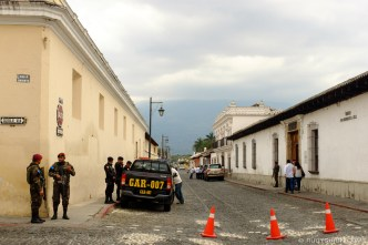 The Presidential House in Antigua Guatemala