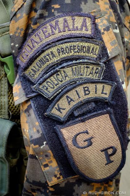 Rudy Giron: Antigua Guatemala &emdash; Kaibil Policia Militar