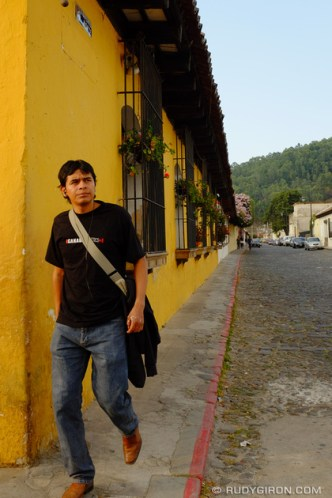 Street views of Antigua Guatemala by Rudy Giron