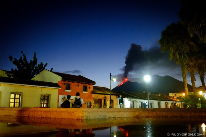 Rudy Giron: Antigua Guatemala &emdash; Fuego The Exhibitionist
