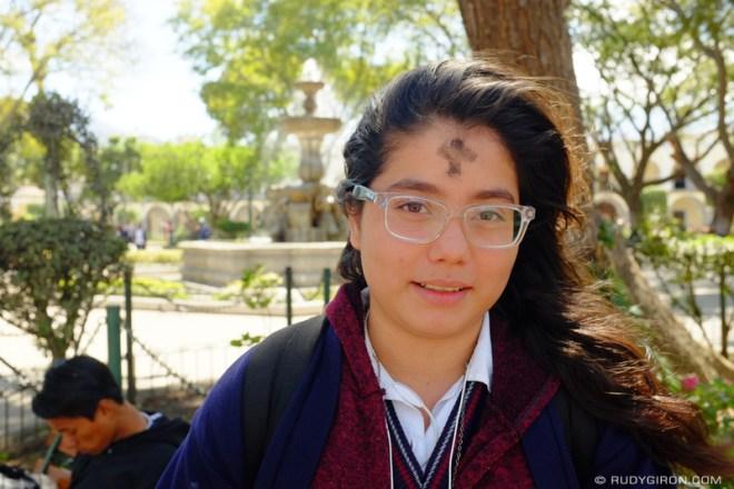 Rudy Giron: Antigua Guatemala &emdash; Ash Wednesday Cross 2