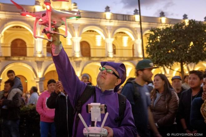 Rudy Giron: Antigua Guatemala &emdash; The Cucurucho and The Drone