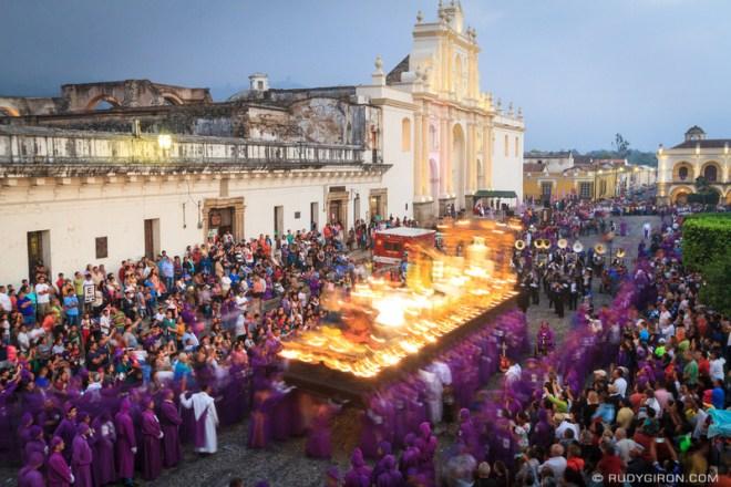 Rudy Giron: Antigua Guatemala &emdash; Holy Week Processions — Jesús del Perdón from San Francisco El Grande 2