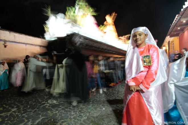 Rudy Giron: Antigua Guatemala &emdash; Holy Week Processions — Viacrucis de Santa Inés 2