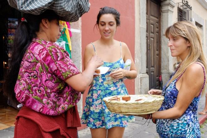 Rudy Giron: Antigua Guatemala &emdash; Funding Your Travels By Selling Muffins