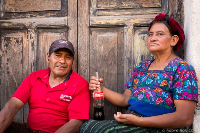 Rudy Giron: Antigua Guatemala &emdash; Street Portraits of Strangers — Guatemalans at Lunch