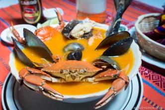 Guatemalan Food — Caldo de Mariscos by Rudy Giron