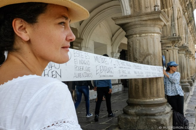 Rudy Giron: Antigua Guatemala &emdash; Day of the Army Manifestations