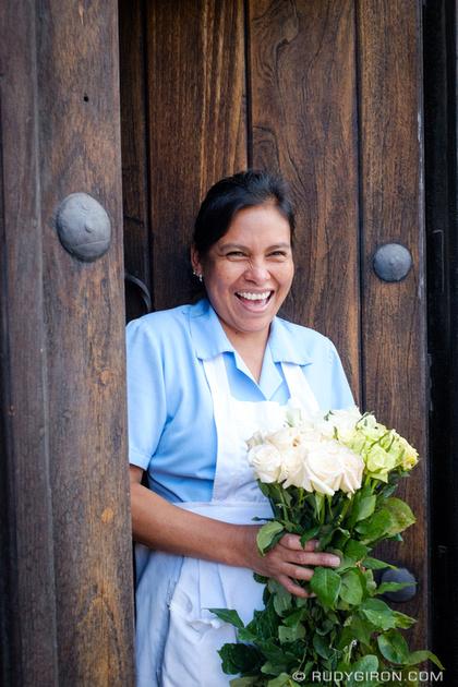 Rudy Giron: Antigua Guatemala &emdash; Roses Make Me Happy