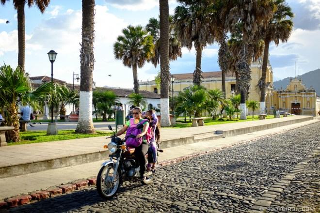 Rudy Giron: Antigua Guatemala &emdash; Palm trees in the highlands of Antigua Guatemala