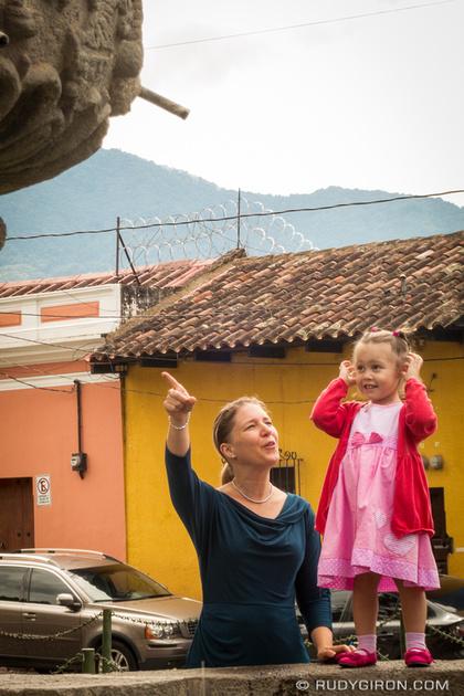 Rudy Giron: Antigua Guatemala &emdash; Look at the doves, darling