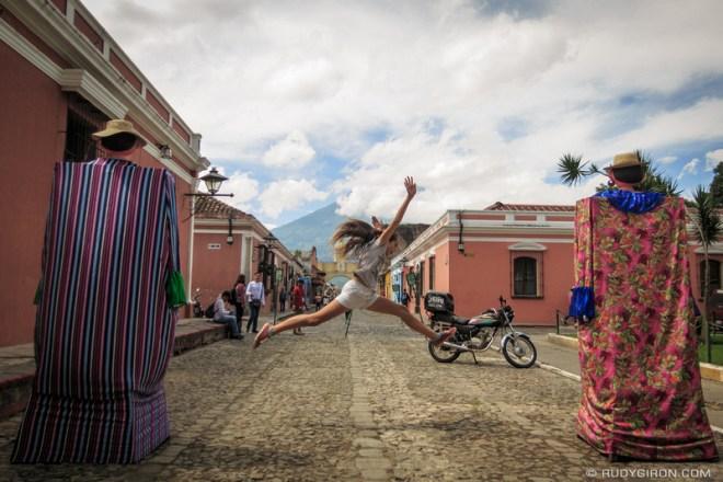 Rudy Giron: Antigua Guatemala &emdash; Leaping Through Giants in Antigua Guatemala