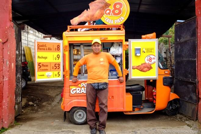 Rudy Giron: Antigua Guatemala &emdash; Tuk Tuk Fried Chicken Food Truck