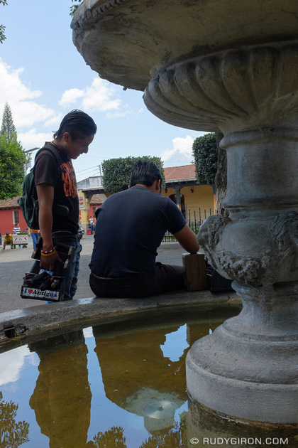 Rudy Giron: Antigua Guatemala &emdash; I love Antigua