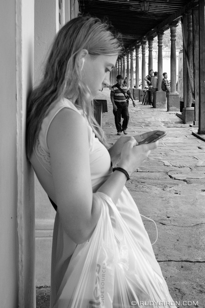 Rudy Giron: Antigua Guatemala &emdash; Street Photography — Snapchatting my day story from Antigua Guatemala