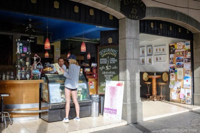 Rudy Giron: Antigua Guatemala &emdash; Desayunos and Breakfasts at El Portal Café